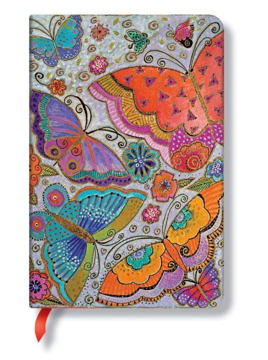 Paperblanks butikkönyv Flutterbyes mini vonalas