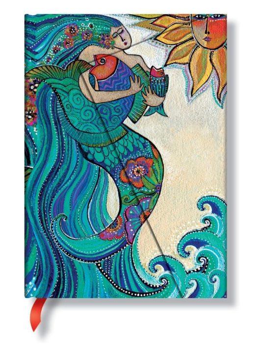 Paperblanks butikkönyv Ocean Song midi vonalas