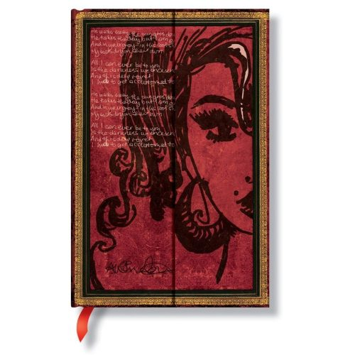 Paperblanks butikkönyv Amy Winehouse, Tears Dry mini üres