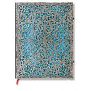 Paperblanks butikkönyv Maya Blue ultra vonalas