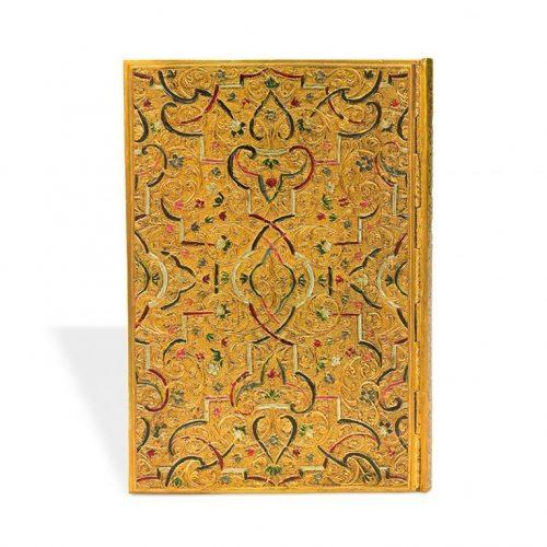 Paperblanks telefonregiszter Gold Inlay midi