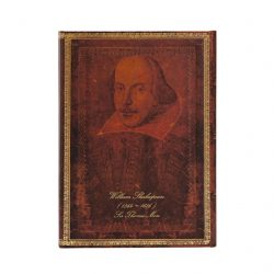 Paperblanks butikkönyv Shakespeare, Sir Thomas More midi vonalas