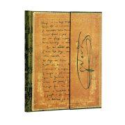 Paperblanks butikkönyv Verdi, Carteggio ultra vonalas