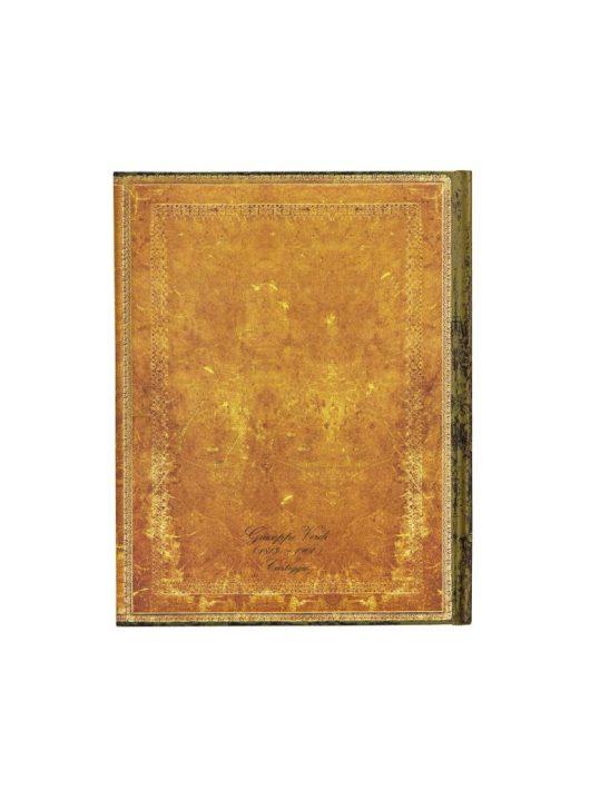 Paperblanks butikkönyv Verdi, Carteggio mini vonalas