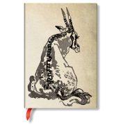 Paperblanks butikkönyv Solitary Oryx midi vonalas