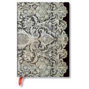 Paperblanks butikkönyv Ivory Veil midi vonalas