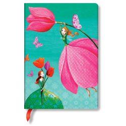 Paperblanks butikkönyv Joyous Springtime midi vonalas