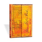Paperblanks butikkönyv Bach, Cantata BWV 112 mini vonalas