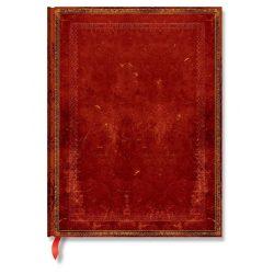 Paperblanks butikkönyv Venetian Red ultra vonalas