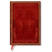 Paperblanks butikkönyv Venetian Red midi vonalas