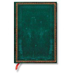 Paperblanks butikkönyv Viridian midi vonalas