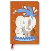 Paperblanks butikkönyv Baby Elephant mini vonalas