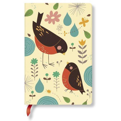 Paperblanks butikkönyv Mother Robin mini vonalas