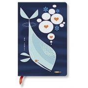 Paperblanks butikkönyv Whale and Friend mini üres