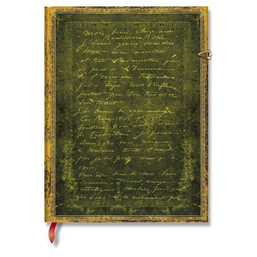 Paperblanks butikkönyv Rodin, The Thinker SE ultra vonalas