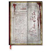 Paperblanks butikkönyv Bram Stoker, Dracula ultra vonalas