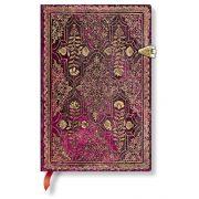 Paperblanks butikkönyv Amaranth mini vonalas