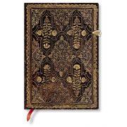 Paperblanks butikkönyv Mahogany midi vonalas