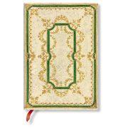 Paperblanks butikkönyv Marbled Twine midi vonalas
