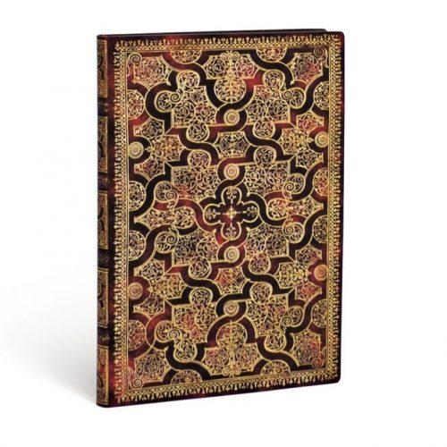 Paperblanks FLEXIS notesz, füzet Mystique midi vonalas 176 old.