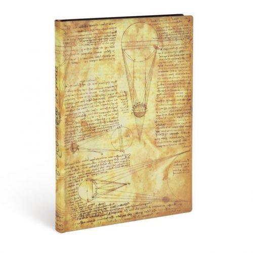 Paperblanks FLEXIS notesz, füzet Sun & Moonlight Kraft midi vonalas 176 old.