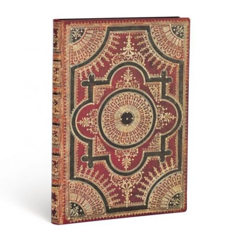 Paperblanks FLEXIS notesz, füzet Cordovan Kraft midi vonalas 240 old.