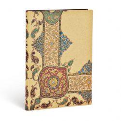 FLEXIS notesz, füzet Visions of Paisley Ivory Kraft ultra vonalas 240 old.