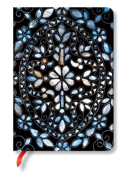 Paperblanks 25. jubileiumi különkiadás Mirror Vine midi vonalas