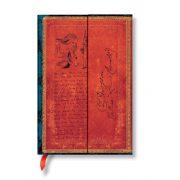 Paperblanks butikkönyv Lewis Carroll, Alice in Wonderland mini vonalas