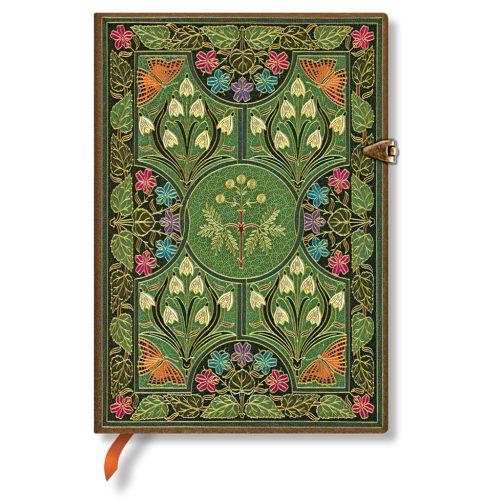 Paperblanks butikkönyv Poetry in Bloom midi üres