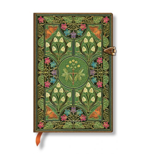 Paperblanks butikkönyv Poetry in Bloom mini vonalas