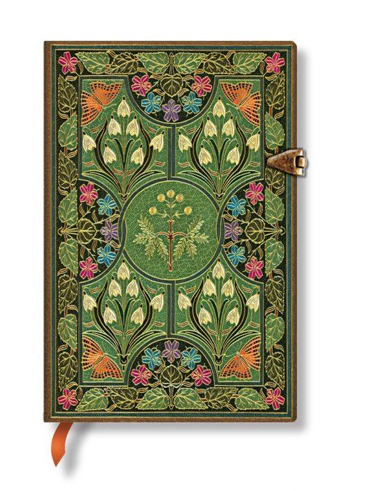 Paperblanks butikkönyv Poetry in Bloom mini üres