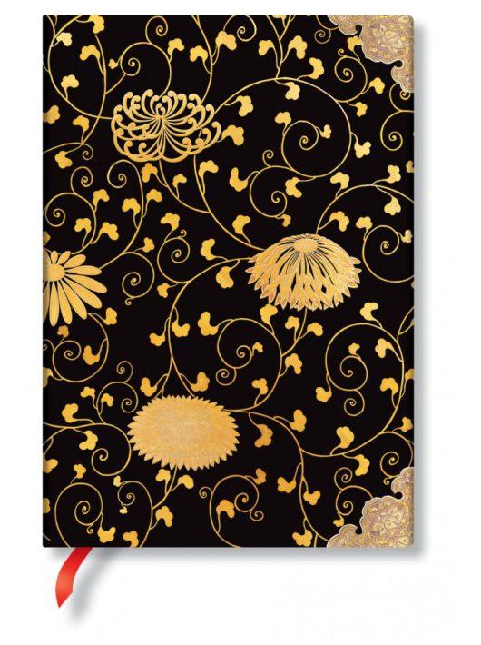 Paperblanks butikkönyv Karakusa midi vonalas