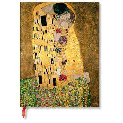 Paperblanks butikkönyv Klimt's 100th Anniversary – The Kiss  ultra vonalas