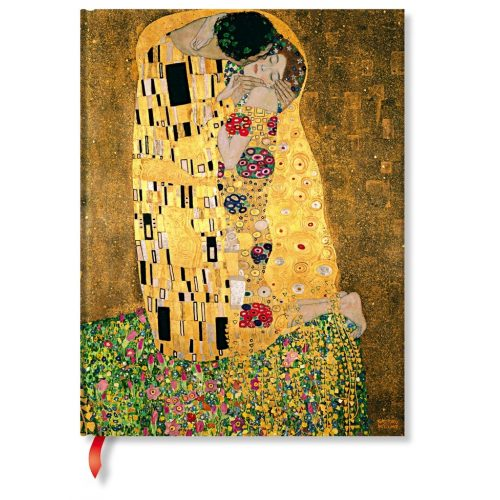 Paperblanks butikkönyv Klimt's 100th Anniversary – The Kiss  ultra vonalas