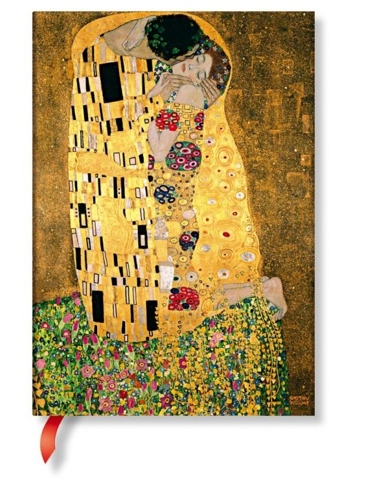 Paperblanks butikkönyv Klimt's 100th Anniversary – The Kiss  midi vonalas