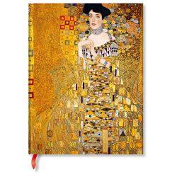 Paperblanks butikkönyv Klimt's 100th Anniversary – Portrait of Adele ultra vonalas