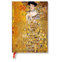 Paperblanks butikkönyv Klimt's 100th Anniversary – Portrait of Adele midi vonalas