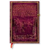 Paperblanks butikkönyv The Brontë Sisters midi vonalas