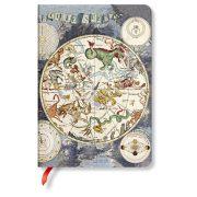 Paperblanks butikkönyv Celestial Planisphere midi vonalas