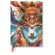 Paperblanks FLEXIS notesz, füzet Dharma Dragon midi vonalas 240 old.