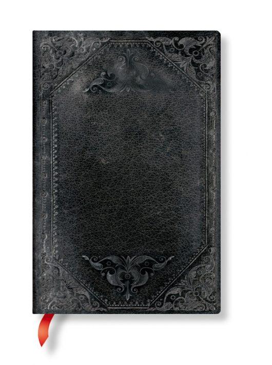 Paperblanks FLEXIS notesz, füzet Midnight Rebel Bold mini vonalas 176 old.