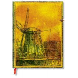 Paperblanks butikkönyv Rembrandt's 350th Anniversary ultra vonalas