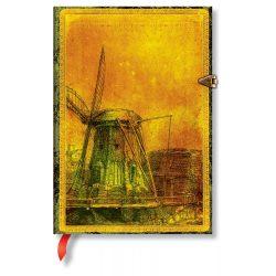 Paperblanks butikkönyv Rembrandt's 350th Anniversary midi vonalas