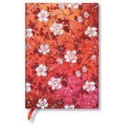 Paperblanks butikkönyv Sakura midi vonalas