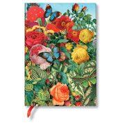 Paperblanks butikkönyv Butterfly Garden midi vonalas