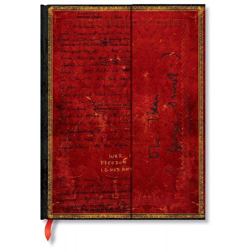 Paperblanks butikkönyv Orwell, Nineteen Eighty-Four ultra vonalas