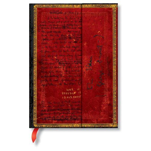Paperblanks butikkönyv Orwell, Nineteen Eighty-Four midi vonalas