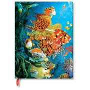 Paperblanks butikkönyv Sea Fantasies ultra vonalas