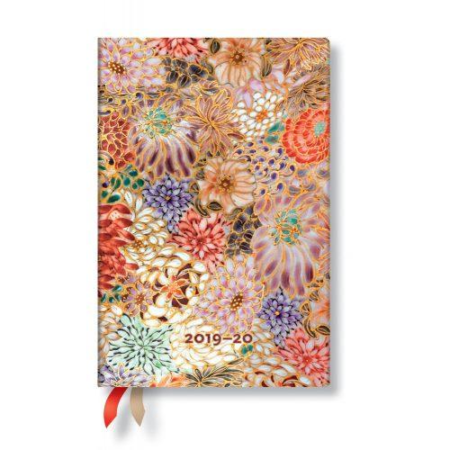 Paperblanks naptár (2019/20) 18 hónapos - Kikka mini horizontális